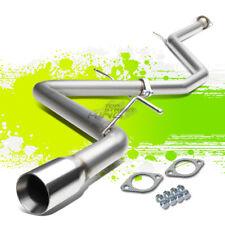 """3""""TIP MUFFLER STAINLESS STEEL CATBACK EXHAUST PIPE FOR 16-17 COROLLA IM E180 1.8"""