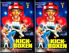 """VHS - """" Kick-Boxen WM - Teil 1 & 2 -- Die Highlights & Die Superfights """""""