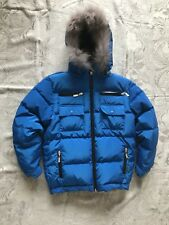 DIOR JR Royal Blue Padded Down Jacket For 10 Y Old Kid