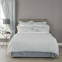 Christy Alderley Super King Size Bed Duvet Set In Duck Egg RRP £250