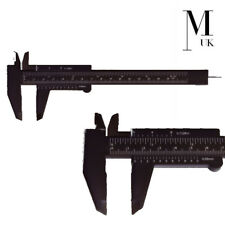 Microblading gobernante calibre-Extensible spmu Pinzas Para Cejas herramienta de medición Negro