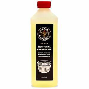 Grill Republic Hochwertige Brennpaste aus Ethanol für den Tischgrill 500ml