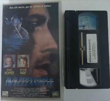 VHS BERSAGLIO DI MEZZANOTTE di John Nicolella [FOX - PRISMA]