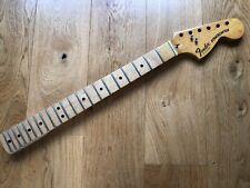 1979 Vintage Fender USA Maple Stratocaster Neck Strat Played In