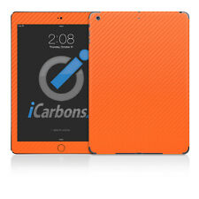 iPad Air Skin - Orange Carbon Fibre by iCarbons