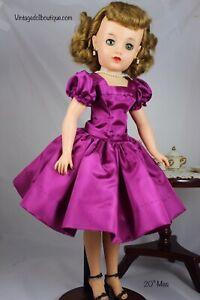 """Taffeta Dress For 20"""" Ideal Miss Revlon"""