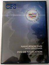 2007 2008 2009 Cadillac Escalade SUV ESV EXT Navigation DVD 293 Map Version 1.0