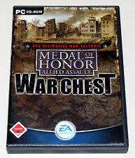 MEDAL OF HONOR ALLIED ASSAULT WAR CHEST - PC - SPEARHEAD & BREAKTHROUGH HANDBUCH