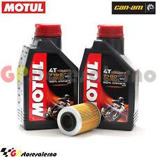 TAGLIANDO OLIO + FILTRO MOTUL 7100 10W60 2L CAN AM 650 OUTLANDER EFI XT 2010
