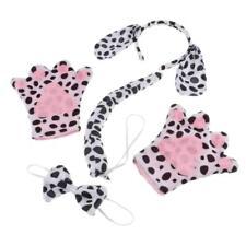 4/set Kids Dalmatian Spotted Dog Puppy Costume Set Fancy Dress