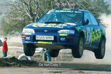 Kenneth Eriksson Subaru Impreza 555 Argentine Rally 1996 Photograph 2