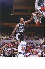 289569511 DAVID ROBINSON San Antonio Spurs signed 11x14 photo JSA COA