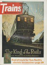 TRAINS Magazine Volume 33 Number 9 July 1973