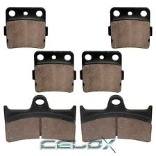 Front Rear Brake Pads For Yamaha Grizzly 660 YFM660F 2002 2003 2004