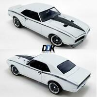 ACME A1805212 1968 PONTIAC FIREBIRD STREET FIGHTER WHITE DIECAST MODEL CAR 1:18