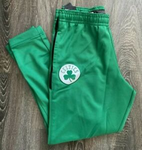 Brand New Nike NBA Boston Celtics Dri-Fit Warm Up Pants Men's Large