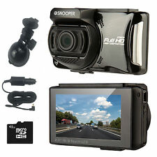New Snooper DVR-4HD Vehicle Dash Witness Camera & GPS Police Speed Trap Detector