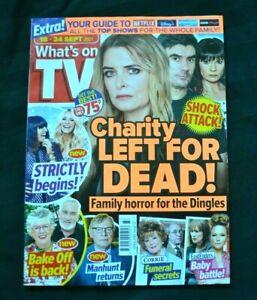 UK What's On TV Magazine 18/09/21 September 18th 2021 Charity Dingle Emmerdale