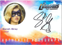 DC Legends of Tomorrow Auto Autograph Card Sarah Grey Stargirl SG