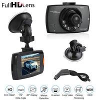 FHD 1080P Car DVR Video Camera Recorder Dash Cam 2.7'' Night Vision G-sensor SD