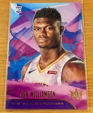 2019-20 Panini NBA Court Kings - Zion Williamson, Rookie Card Level 1 #72
