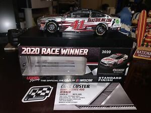 COLE CUSTER 2020 KENTUCKY FIRST CUP WIN RACED VERSION HAAS 1/24 ACTION FREE SHIP