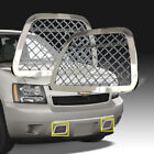 Fit 2007-2014 Tahoeavalanchesuburban Bumper Steel Mesh Grille Grill Inserts Ss