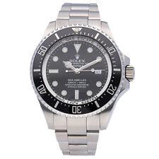 Rolex Sea-Dweller Deepsea Auto 44mm Steel Mens Bracelet Watch Date 116660