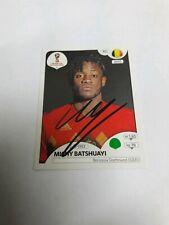 Panini Sticker WM 2018 signiert Michy Batshuayi Belgien  NEU