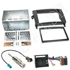 MERCEDES B-Klasse W245 ab06 2-DIN Radioblende ISO KFZ Adapter+ Antenne Kabel Set