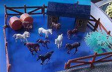 Kleiner Bauernhof ,Farm mit Tieren und Zubehör   Nr.22