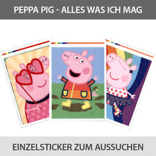 PANINI Peppa Pig Wutz Sticker tout ce que j/'aime album de scrapbooking 1 x Display