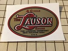 Lauson #2 Tecumseh early style decal TLC RSC Oval