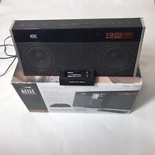 Altec Lansing M402SR Moondance Glow Stereo Alarm Dock Speaker for iPod/iPhone