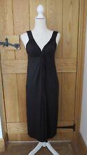 NEW WOMEN'S BLACK MATERNITY DRESS SIZE 12 MARKS & SPENCER