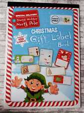 120 Christmas Labels, Christmas Gift Label Book, 10 Sheets, Xmas Gifts Tags