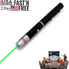 Portable 900Miles Green 1mw Laser Pointer Pen 532nm Ultra Strong Aluminium Lazer