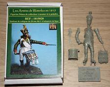 NAPOLEON -HISTOREX-ARMEES DE WATERLOO-TAMBOUR DE VOLTIGEUR-1815- 54 mm