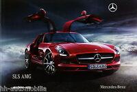 1417MB Mercedes SLS AMG Prospekt 2009 12/09 deutsche Ausgabe brochure broszura