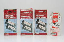 Hama Discharger, Tester Combi #46302 3er Set mit 1x Adapterplatte #46495