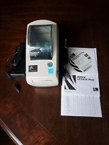 Zebra LP 2824 Plus Label Thermal Printer New (Open Box)