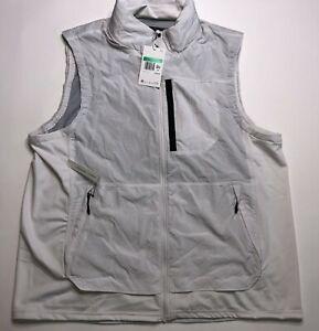 Nike Tech Pack Stowable Hooded Training Vest White Men's Size XL CD5720 094