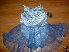 Vintage Girls Dance Ice Skating Outfit Dress-L-12-14