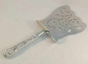 """Repousse by Kirk Sterling Handle Hooded Asparagus Server-Custom Made-9 1/2"""""""