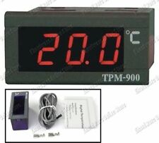 220VAC Digital LED Display Thermometer Panel -30ºC to 110ºC (TPM-900)