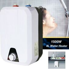 1500W Instant Electric Hot Water Heater 8L Boiler for Kitchen Bathroom UK Plug