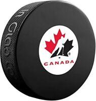 Team Canada Autograph Souvenir Hockey Puck