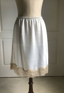 21 Inch Polyester Ivory Small Half Slip By Secrets In Lace
