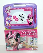 DISNEY MINNIE MOUSE DAISY PAGE STORYBOOK & MAGNETIC DRAWING KIT