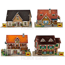 CubicFun 3D Puzzle World Style Germany Flavor 4 puzzles included Paper Model New